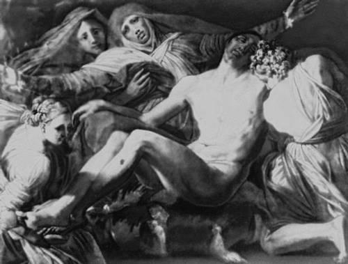 Россо Фьорентино. «Оплакивание Христа». Ок. 1535. Лувр. Париж. Маньеризм.
