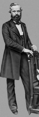 К. Маркс. Лондон. 1861. Маркс Карл.