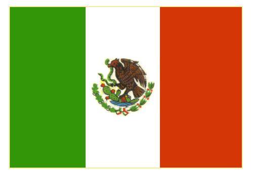 Флаг государственный. Мексика. Мексика.