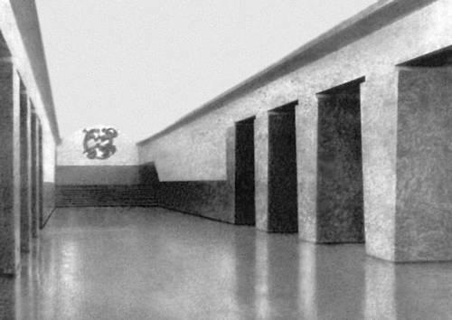 Станция метрополитена «Площадь Руставели» в Тбилиси. 1965. Архитектор Л. Джанелидзе. Метрополитен.