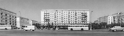 Площадь Калинина. Минск.
