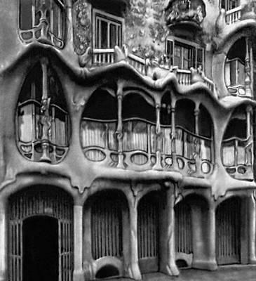А. Гауди. Жилой дом Каса Балто в Барселоне. 1905—07. «Модерн».