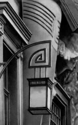 Ф. О. Шехтель. Фонарь у входа в Московский Художественный театр. 1902. «Модерн».
