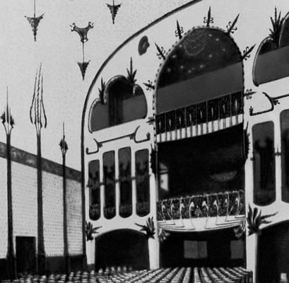 А. Энделль. «Пёстрый театр» в Берлине. 1901. «Модерн».