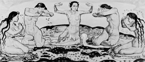 Ф. Ходлер. «День». 1898—1900. Художественный музей. Берн. «Модерн».