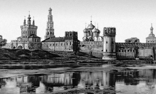 Новодевичий монастырь в Москве. 16—17 вв. Монастыри.