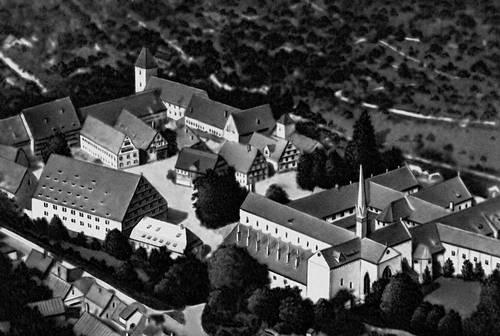 Монастырь Маульбронн (ФРГ). 12—14 вв. Монастыри.