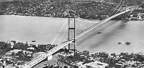 Мост через пролив Босфор (Турция). 1973. Мост (сооружение).