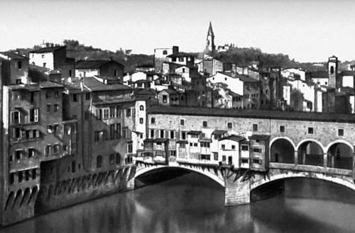 Понте Веккьо во Флоренции (Италия). 14 в. Мост (сооружение).