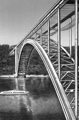 Мост через р. Влтава (Чехословакия). 1967. Мост (сооружение).