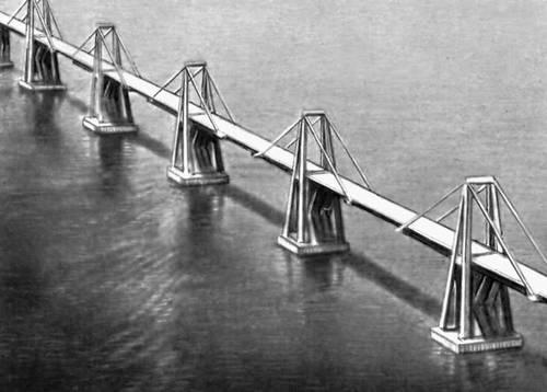 Мост через оз. Маракайбо (Венесуэла). 1962. Мост (сооружение).