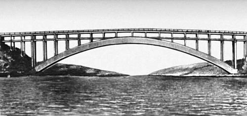 Мост через р. Старый Днепр. 1952. Мост (сооружение).