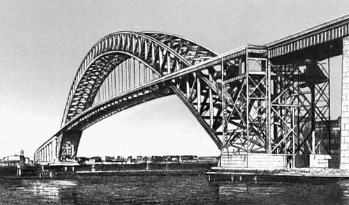 Мост через залив Килл-Ванн-Килл (США). 1931. Мост (сооружение).