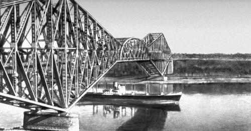 Мост через р. Св. Лаврентия (Канада). 1917. Мост (сооружение).