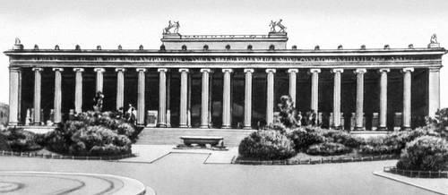 К. Ф.Шинкель. Старый музей в Берлине. 1824—1828. Музеи.