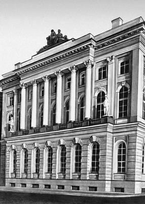 Ж. Б. Музеи Валлен-Деламот. Малый Эрмитаж в Ленинграде. 1764—67. Музеи.