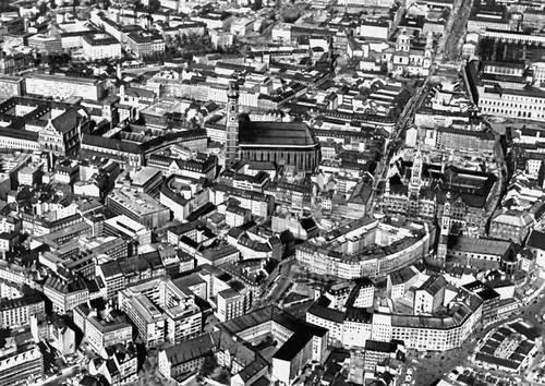 Мюнхен. Общий вид города. Мюнхен.