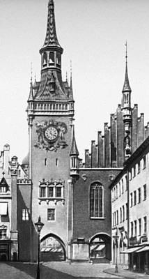 Старая ратуша. 1470. Архитектор Й. Гангхофер. Мюнхен.