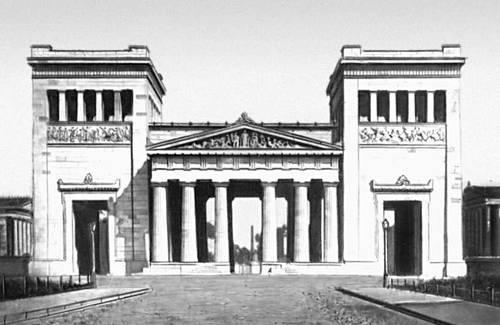 Л. Кленце. Пропилеи в Мюнхене. 1846—60. Мюнхен.