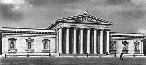 Глиптотека. 1816—30. Архитектор Л. фон Кленце. Мюнхен.