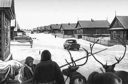 В посёлке Красное. Ненецкий национальный округ.