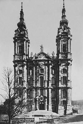 Б. Нёйман. Паломническая церковь в Фирценхейлигене (Бавария). 1743—71. Нёйман Иоганн Бальтазар.