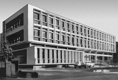 Министерство труда. 1961. Архитектор К. Вафиадес. Никосия.