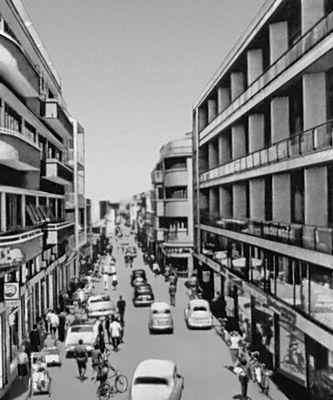 Улица Ледра. Современная застройка. Никосия.