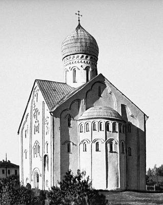 Церковь Спаса на Ильине улице. 1374. Новгород.