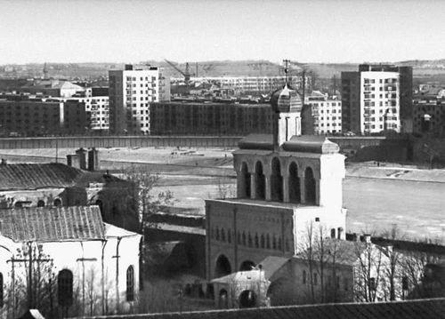 Новгород. Вид части города. Новгород.