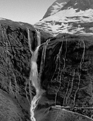 Водопад в Ромсдале. Норвегия.