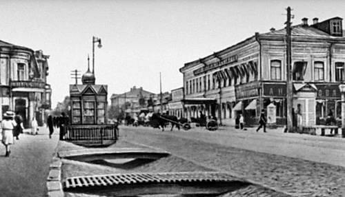 Оренбург. Николаевская улица. Начало 20 в. Оренбург.
