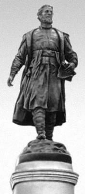 С. М. Орлов. Памятник Афанасию Никитину в г. Калинине. Бронза. 1955. Орлов Сергей Михайлович.