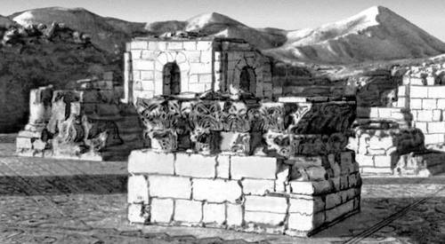 Дворец халифа Хишама Хирбет аль-Мафджар близ Иерихона. 1-я пол. 8 в. Палестина.