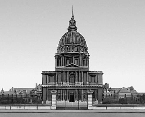 Собор инвалидов. 1680—1706. Архитектор Ж. Ардуэн-Мансар. Париж.