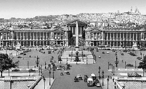 Париж. Площадь Согласия. 1753—75. Архитектор Ж. А. Габриель. Париж.