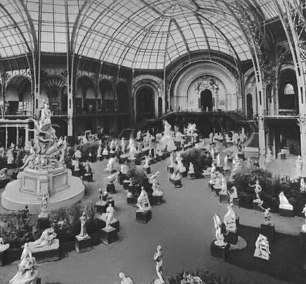 Большой дворец (Гран Пале) на выставке в Париже. 1900. Архитекторы А. Деглан, Ф. Т. Томас, Л. Луве. Париж.