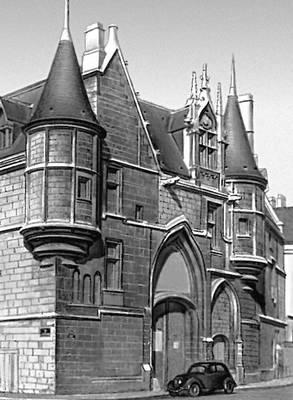 Париж. Отель де Санс. Начат в 1474. Париж.