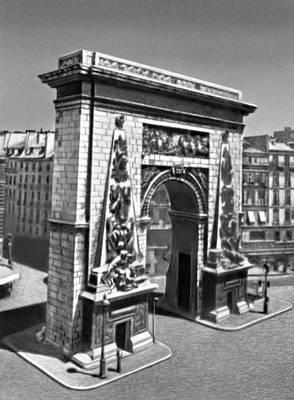 Ф. Блондель. Ворота Сен-Дени в Париже. 1672. Париж.