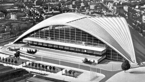 Б. Зерфюсс, Р. Камело, Ж. де Майи. Национальный центр промышленности и техники в Париже. 1958. Париж.