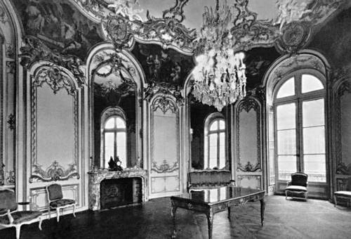 Г. Ж. Бофран. Овальный зал в отеле Субиз в Париже. 1735—40. Париж.