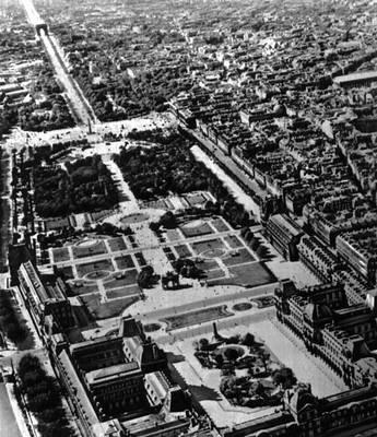 Архитектурные ансамбли главной оси центра Парижа на участке Лувр — площадь де Голя. 16—19 вв. Париж.