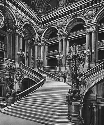 Ш. Гарнье. Парадная лестница театра «Гранд-Опера» в Париже. 1861—75. Париж.