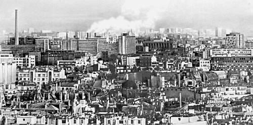 Промышленный район Парижа. Париж.
