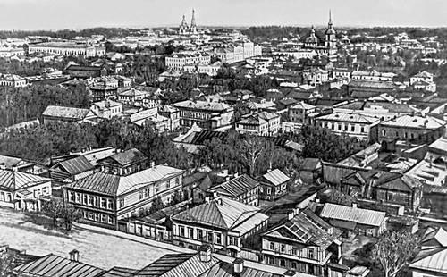 Пермь. Общий вид города. Начало 20 в. Пермь.