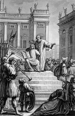 Ф. Петрарка. «Стихи» (Венеция, 1756). Фронтиспис. Гравюра Ф. С. Фонтебассо. Петрарка Франческо.