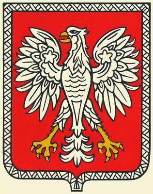 Государственный герб Польши. Польша.