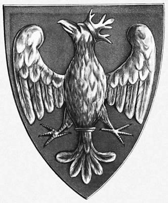 Герб Пястов — первой династии польских королей. Польша.