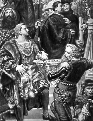 Я. Матейко. «Прусская дань». 1882. Фрагмент. Национальный музей. Краков. Польша.