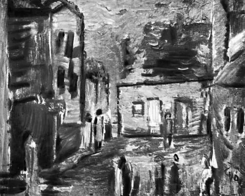 Я. Цибис. «Старый Сонч». 1959—60. Национальный музей. Познань. Польша.